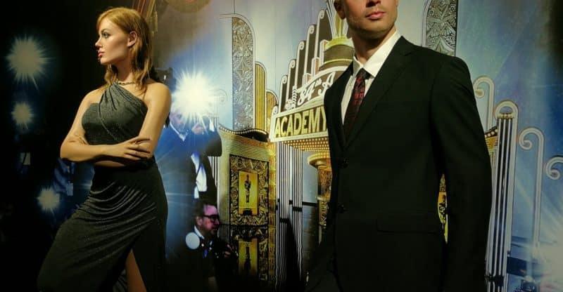 Angelina Jolie and Brad Pitt wax statue in Vietnam