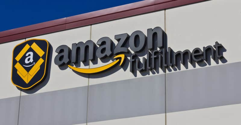 Indianapolis - Circa March 2016: Amazon Fulfillment Center. Amazon is the Largest Internet-Based Retailer in the United States I
