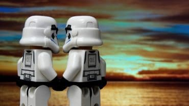 two gay storm troopers in love