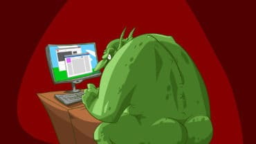 troll posting online