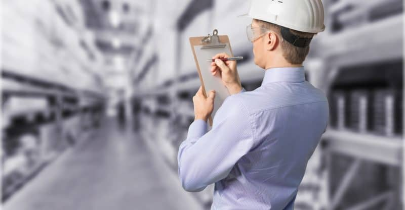 Inspector osha Clipboard Safety Construction Manager Building Contractor
