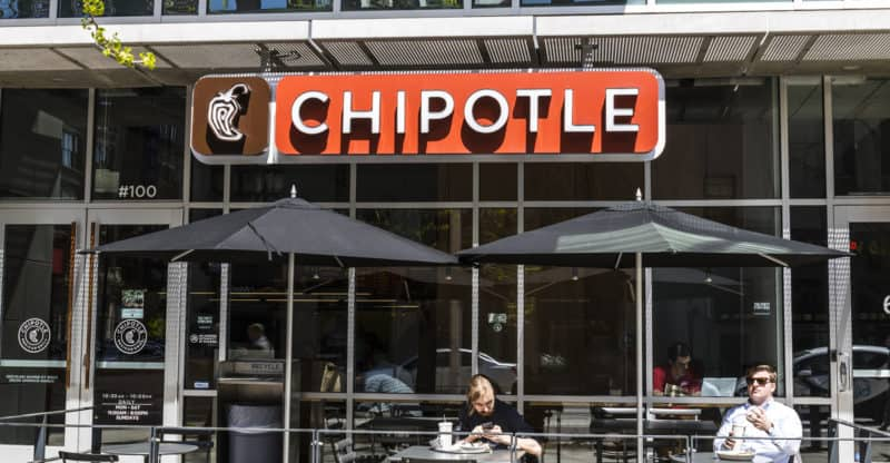 Indianapolis - Circa April 2017: Chipotle Mexican Grill Restaurant. Chipotle is a Chain of Burrito Fast-Food Restaurants XIII