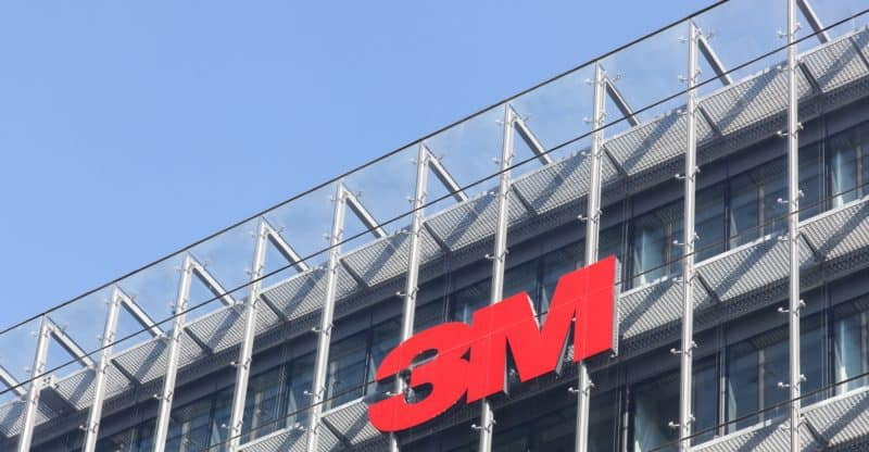 Copenhagen, Denmark - September 10, 2017: 3M is an American multinational conglomerate corporation based in Maplewood, Minnesota. 3M produces adhesives, abrasives, laminates and passive fire protection